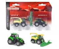 Majorette Farm Medium Set Krone Big X & Deutz