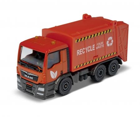 Majorette MAN TGS Garbage Truck