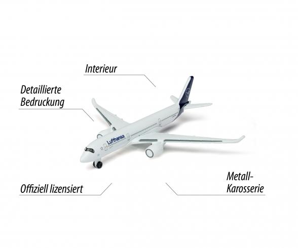 Lufthansa Flugzeug Airbus 350