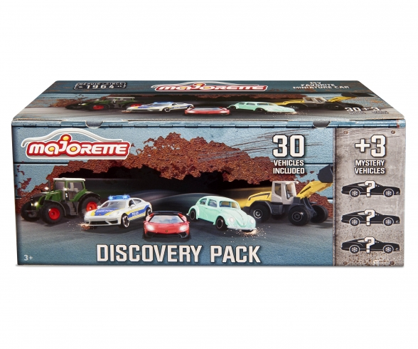 Discovery Pack - 30 Autos + 3 Mystery Autos