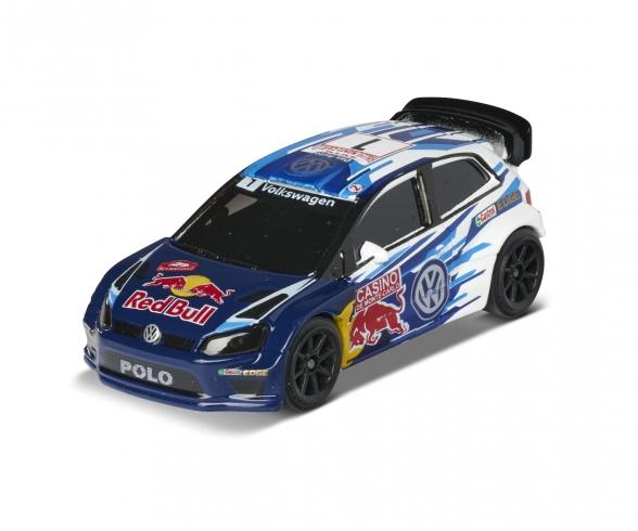 Racing VW Polo WRC Champion + Sammelkarte