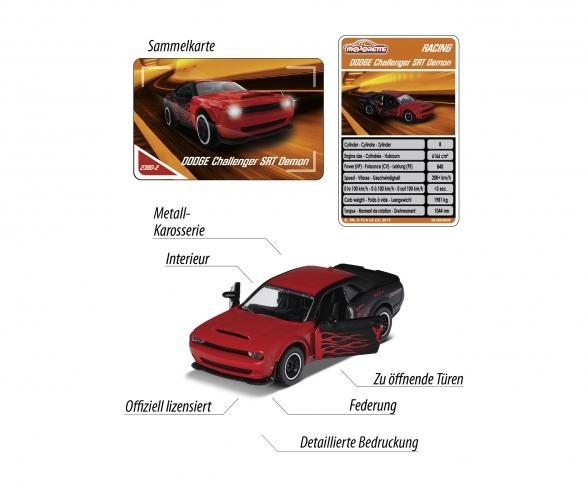 Racing Dodge Demon + Sammelkarte