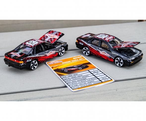 Racing Nissan Cefiro + Sammelkarte