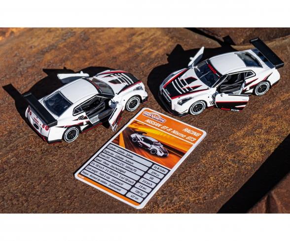 Racing Nissan GT-R Nismo GT3 Drift