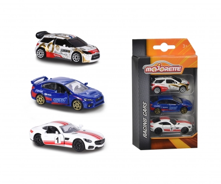 Majorette Racing 3 pcs Set 1 asst Version 1