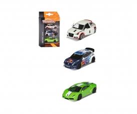 3er Set Rennfahrzeuge - VW Polo R WRC, Audi A1 , Lamborghini Gallardo