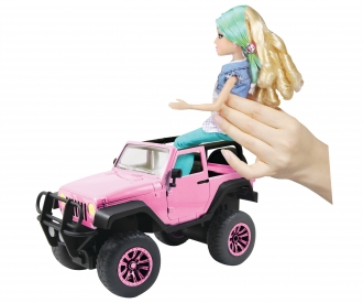 RC Pink Driverz Jeep Wrangler
