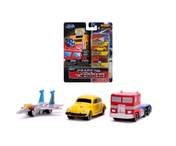 Transformers 3-Pack Nano Autos
