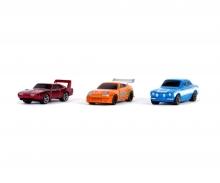 Fast & Furious 3-Pack Nanofigures