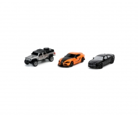 Fast & Furious 3-Pack C Nano Cars