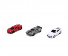 Fast & Furious 3-Pack Nano Cars Wave 4