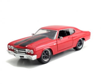 Fast&Furious 1970 Chevy Chevelle SS red