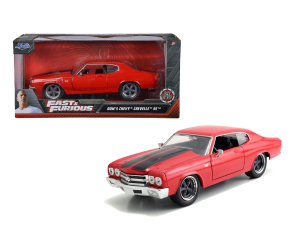 Fast&Furious 1970 Chevy Chevelle SS red 1:24