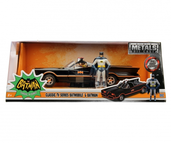 Batman 1966 Classic Batmobile 1:24