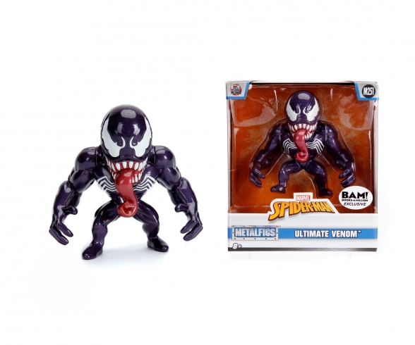 "Marvel 4"" Ultimate Venom Metallfigur"