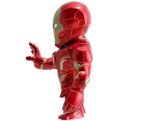 """Marvel 4"""" Iron Man Metallfigur"""