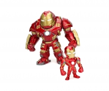 "Marvel Figure 6"" Hulkbuster+2"" Iron Man Metalfigure"