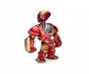 """Marvel 6"""" Hulkbuster+2"""" Iron Man Metallfigur"""