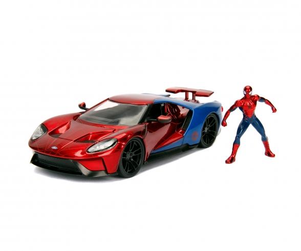 Marvel Spider-Man 2017 Ford GT 1:24
