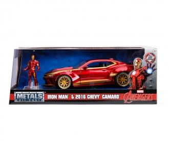 Marvel Iron Man 2016 Chevy Camaro SS 1:24