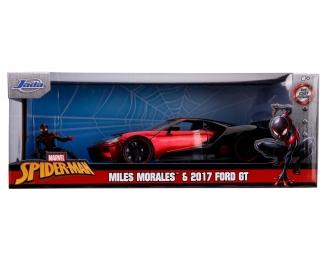 Marvel Miles Morales 2017 Ford GT 1:24