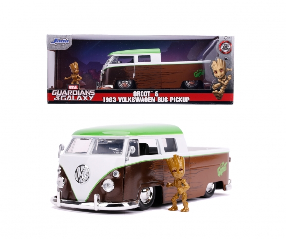 Marvel Groot 1963 Bus Truck 1:24