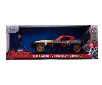Marvel Black Widow 1966 Chevy 1:24