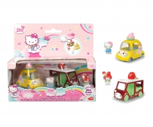Hello Kitty Cupcake + Melody Strawberry