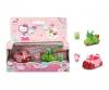 Hello Kitty Apple + Keroppi Coconut