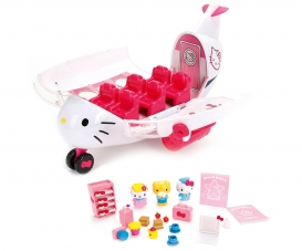 Hello Kitty Jet Plane Playset