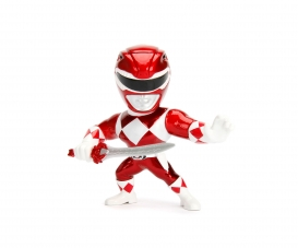 "Power Ranger 4"" Red Ranger Metallfigur"