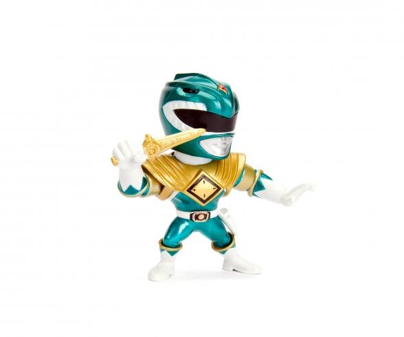 "Power Ranger 4"" Green Ranger Metallfigur"