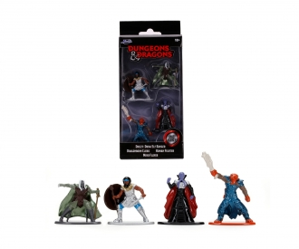 Dungeons & Dragons Nanofiguren 4er Pack