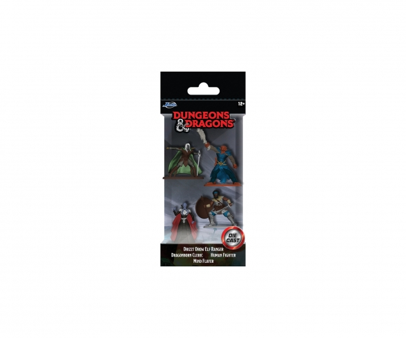 Dungeons & Dragons Nanofiguren 4er Pack