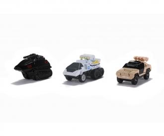 GiJoe 3-Pack A Nano Cars