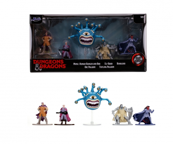 Dungeons & Dragons Nanofigs 5-Pack