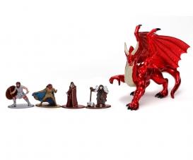 Dungeons&Dragons Nanofiguren 5-Pack Deluxe