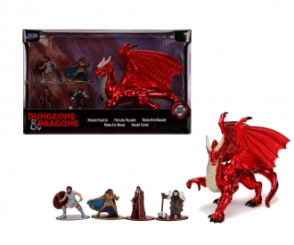 Dungeons&Dragons Nanofigs 5-Pack Deluxe