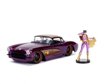 DC Comics Bombshells 1957 Chevy Corvette