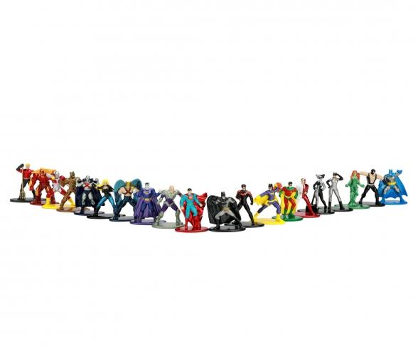 DC Comics Nanofiguren 20-Pack