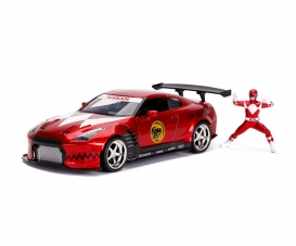 Power Rangers 2009 Nissan GT-R R35 1:24
