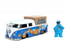 Sesame Street Cookie Monster 1963 VW Bus Pick Up 1:24