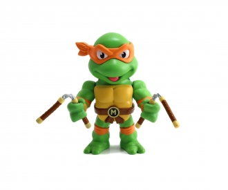 "Turtles 4"" Michelangelo Metallfigur"