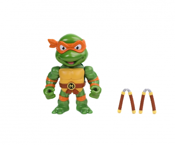 "Turtles 4"" Michelangelo Metallfigur"