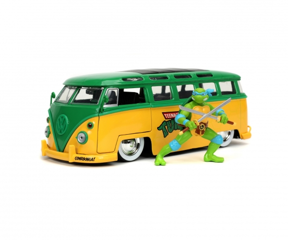 Turtles 1962 VW Bus 1:24