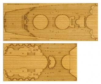1:350 WWII Yamato Wooden-Deck Sheet