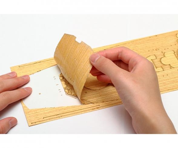 1:350 Yamato Wooden-Deck Sheet