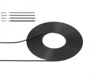 1:6/1:12/1:24 0,80mm Kabel/Schlauch 2m