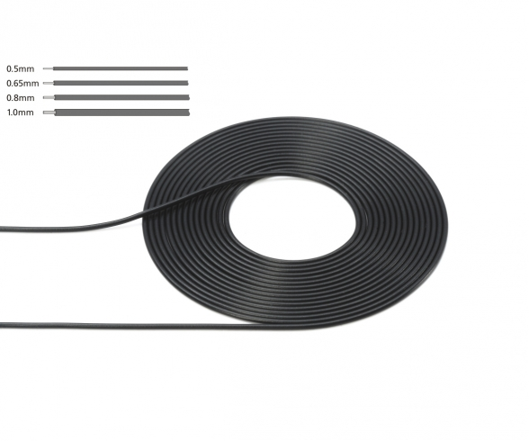 Cable 1mm OD Bla