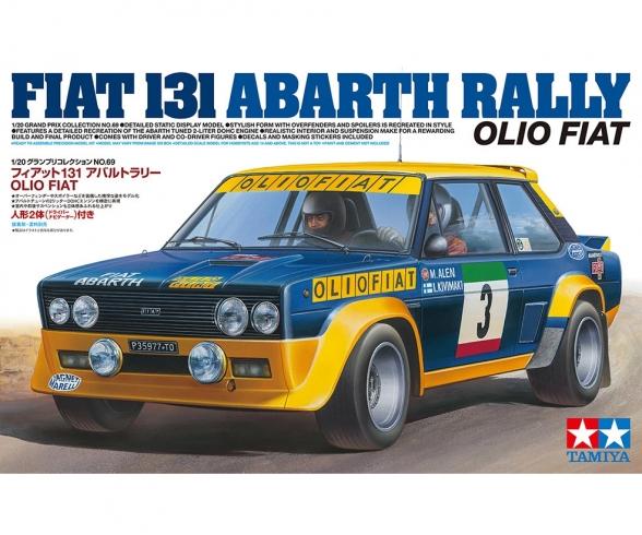 1/20 131 Abarth Rally OlioFiat
